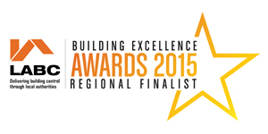 Kirby Construction LABC Building Excellence Awards 2015 Regional Finalist